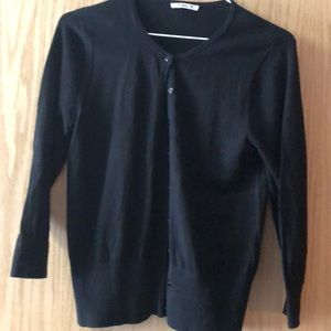 Sweaters - teaspoon black button sweater